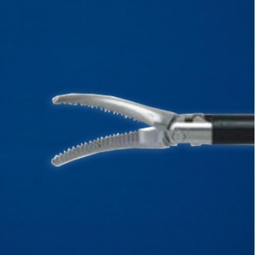 Laparoscopic Curved Forceps ø5x330mm 360° Rotation