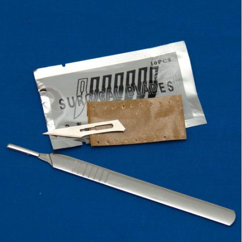 Surgical Knife with 10 blades